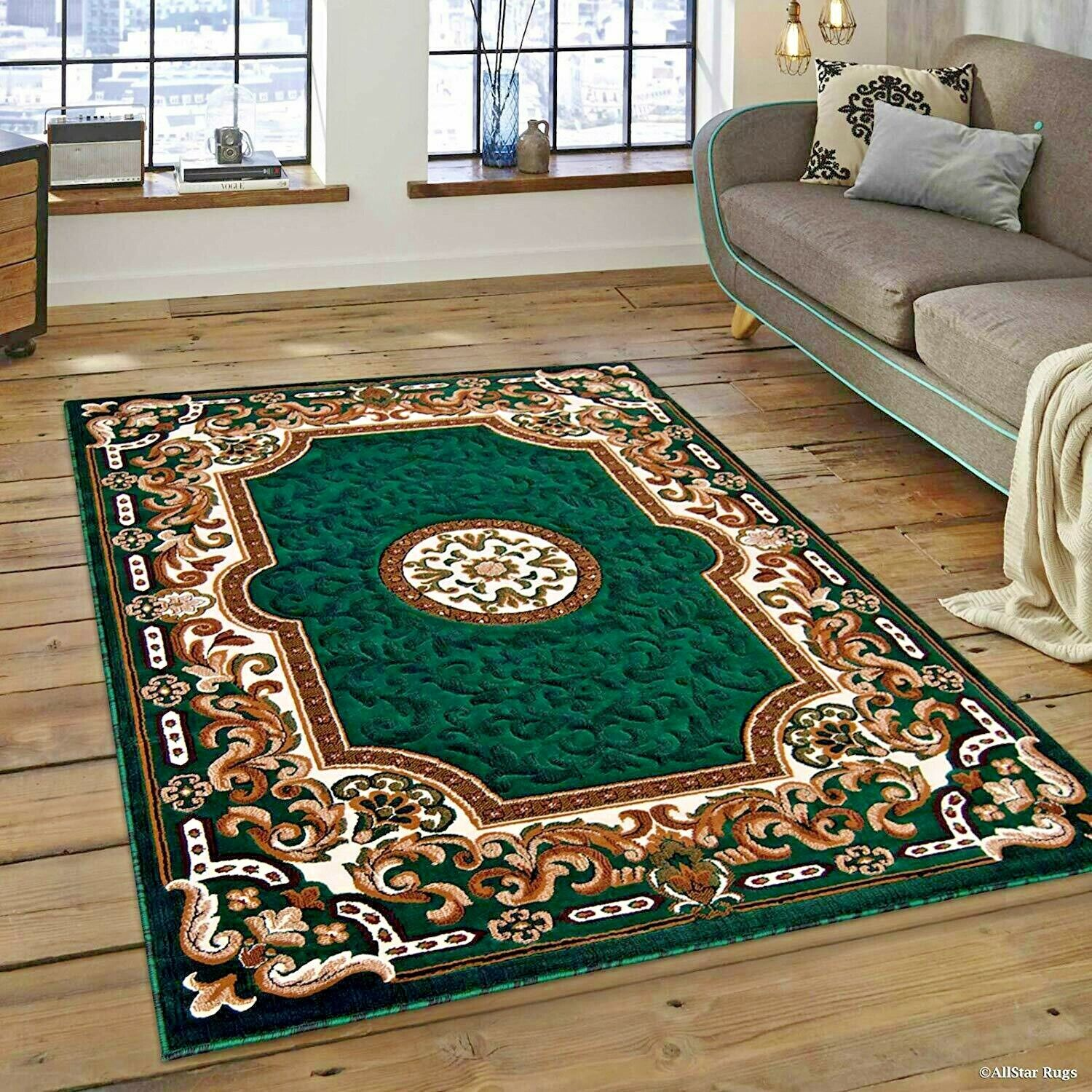 Green Rugs For Living Room.Details About Rugs Area Rugs Carpet 8x10 Rug Oriental Green Large Living Room Floor Big Rugs