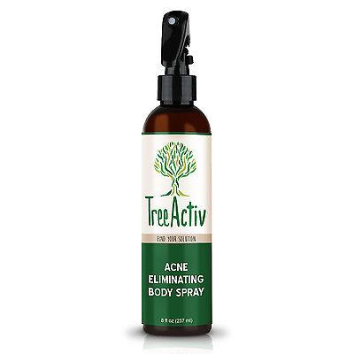 TreeActiv Acne Eliminating Body Spray | Natural Body, Back,