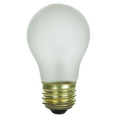 A15FR40 40W 120V Appliance Fan Utility Light Bulb Frost E26 FREE Shipping NEW!!!