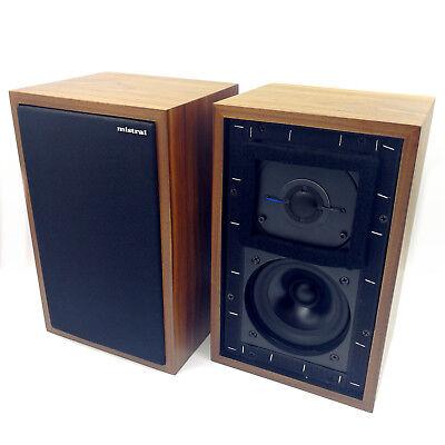 Mistral LS3/5A 11 Ohms 50W x 2 Monitor Speaker Brand New