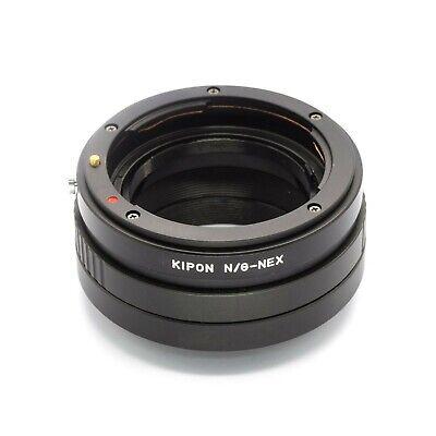 Kipon N / G-Nex Adaptador Nikon G-Mount Objetivo Para sony Nex Cámara
