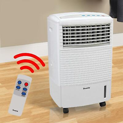 PORTABLE AIR COOLER UNIT 10L 60W & REMOTE CONTROL FLOW SWING CONDITIONING FAN