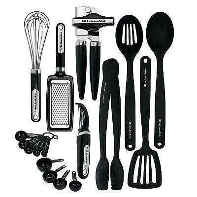 Lifetime Brands Kc448bxoba Tool   Gadget Set  Black  17 Pc