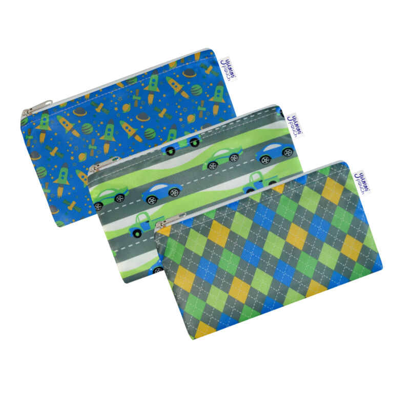Reusable Cloth Snack Bags - Set of 3 - Flashy Collection