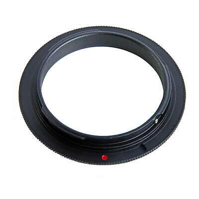 (52mm Macro Reversing Ring for Canon EOS 52 Reverse Mount Lens Adapter Close Up)