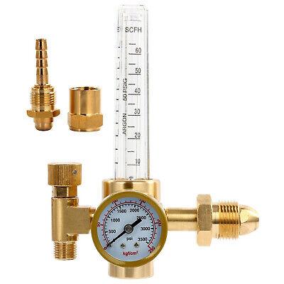 Agr-001 Argon Co2 Gas Gauge Regulator Mig Tig Flow Meter Welder Welding Accs.