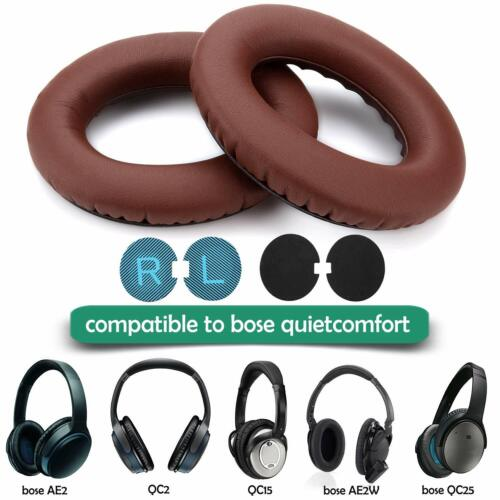 Replacement Earpads for Bose Headphones Cushion Memory Form QC2,QC15,QC25,AE2/2w