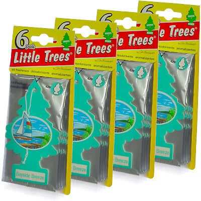 Little Trees Cardboard Hanging Car Home & Office Air Freshener Bayside - Cardboard Trees