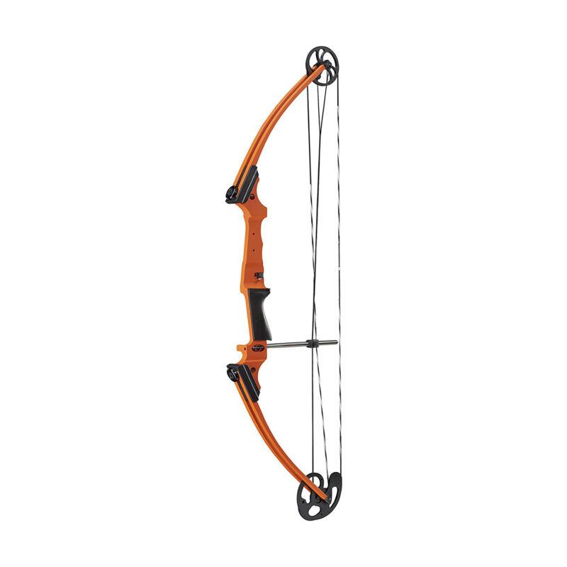 Genesis Archery Universal Original Compound Practice Bow, Left Handed, Orange