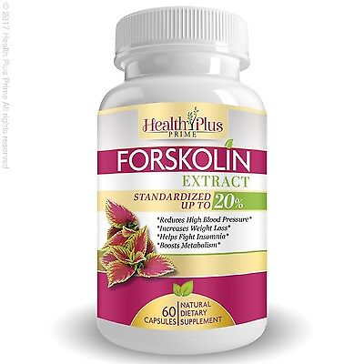 Forskolin Extract Natural Weight Loss Appetite Supplement with 250 mg