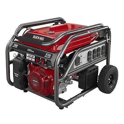 TRI-FUEL Honda new 8750 watt Generator propane lp natural gas bbq quick hose 12'