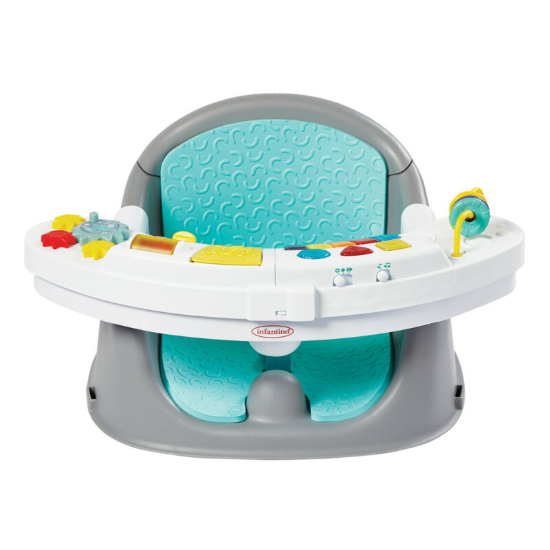Infantino Music & Lights 3-in-1 Discovery Seat & Booster
