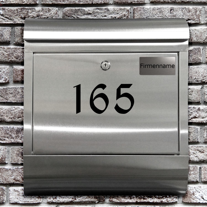 briefkasten mit hausnummer test vergleich briefkasten mit hausnummer g nstig kaufen. Black Bedroom Furniture Sets. Home Design Ideas
