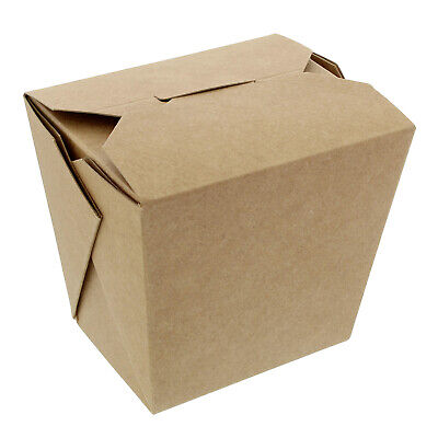 Specialt Chinese Take Out Boxes 16 Oz Chinese Food Containers Brown 50pk