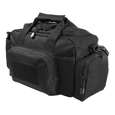 NcStar BLACK Small Range Deployment Bag MOLLE Modular Shoulder Carrying Pack