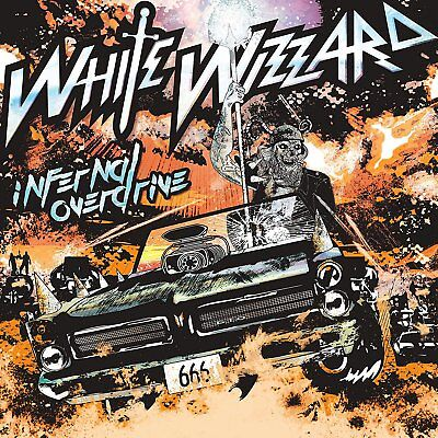 WHITE WIZZARD - INFERNAL OVERDRIVE   CD NEW+