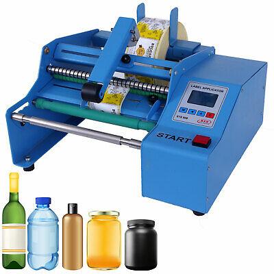 Label Applicator Semi-automatic Round Glassplastic Bottle Labeling Machine