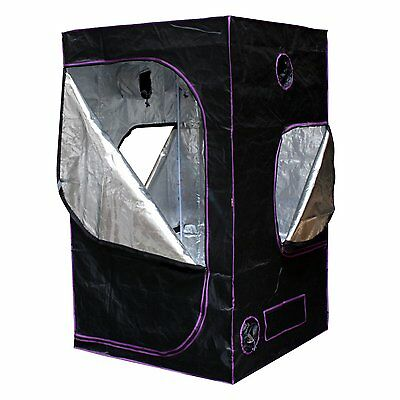 """Horticulture Mylar Hydroponic Grow Tent 48""""x48""""x80""""  for Indoor Plant Growing"""