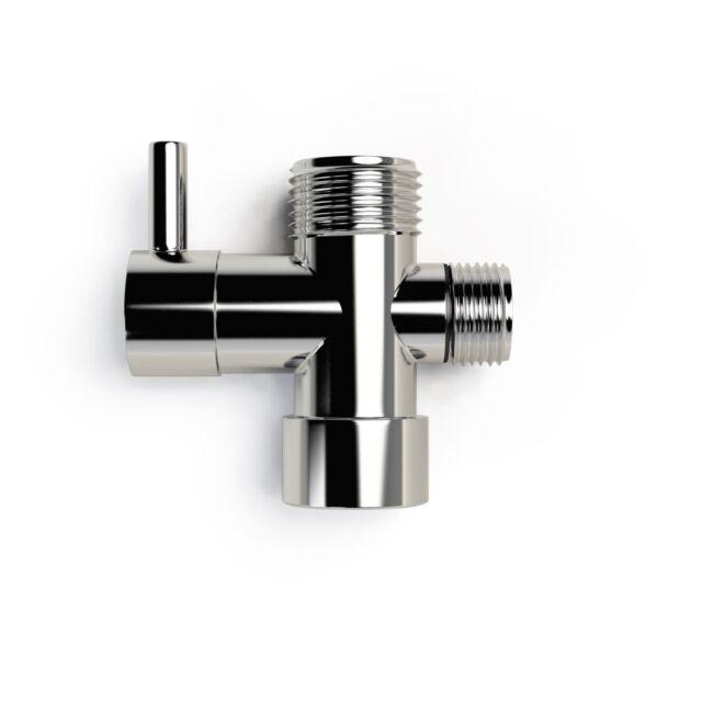 chrome shower diverter valve round bathroom mixer - Shower Diverter Valve