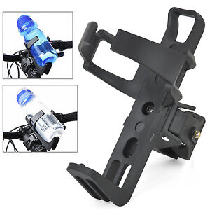 Black Water Bottle Drinks Holder Carrier Cage for Bike Bicycle Cycle Rack Sports