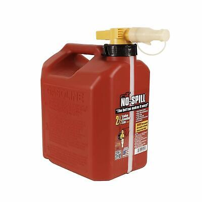 No-spill 1405 2-12-gallon Poly Gas Can