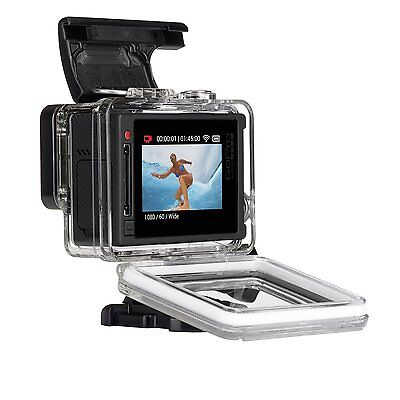 GoPro Hero4 Silver 64GB SD BUNDLE 2 Batteries Limited Stock ()
