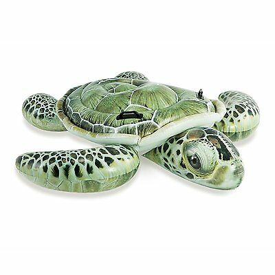 Intex Realistic Sea Turtle Inflatable Ride-On Pool Float with Handles | 57555EP
