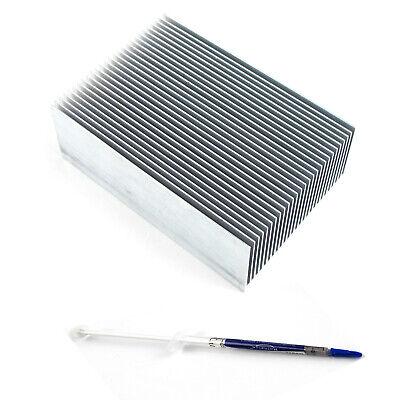 Large Big Aluminum Heatsink Heat Sink Radiator For Led High Power Amplifier Amp