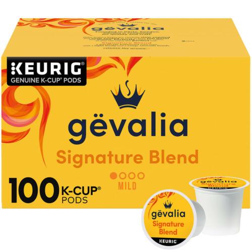 Gevalia Signature Blend Mild Roast K-Cup Coffee Pods (100 ct.) Free Shipping