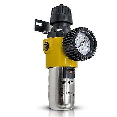 AIR COMPRESSOR FILTER DRYER REGULATOR - Combo Piggy Back. Air Compressor Regu...