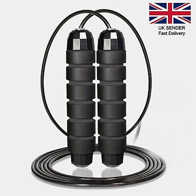 Skipping Rope Adjustable Jump Boxing Fitness Speed Rope Training Gym Yoga Weight