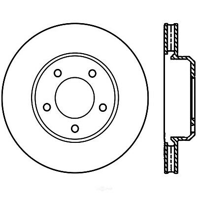 Disc Brake Rotor fits 2005-2019 Dodge Charger Challenger Magnum CENTRIC PARTS