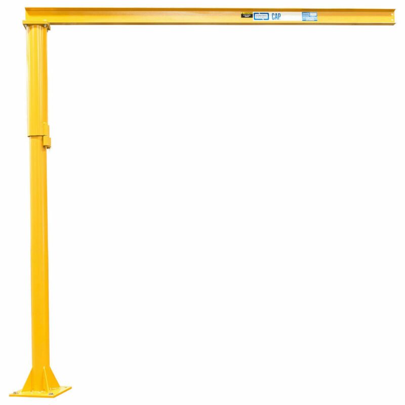 Contrx Medium Duty Floor Mounted Jib Crane, 12
