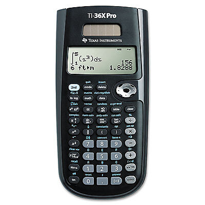 Texas Instruments TI-36X Pro Scientific Calculator 16-Digit LCD TI36XPRO