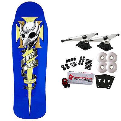 Birdhouse Skateboard Complete Tony Hawk Crest 9.75' Raw Trucks