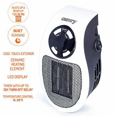 Mini calefactor portátil cerámico sin cable regulador