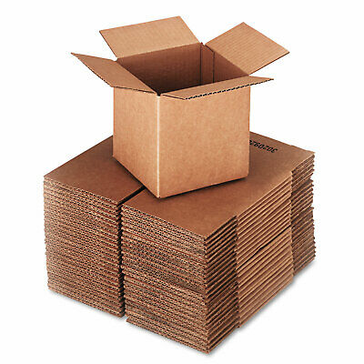 Small Mailing Boxes Packaging For Moving Dishes 25pc 6l X 6w X 6h Cartons