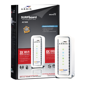 arris surfboard sbg6700 ac ac1600 cable modem router ebay
