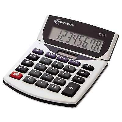 Innovera Portable Minidesk Calculator Office School Math Solor Battery Pwrd