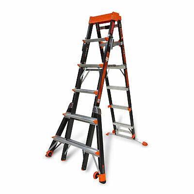 Little Giant 15131 6 - 10 Feet Select Step Fiberglass Ladder 300lb Capacity