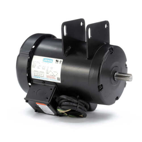 Leeson Electric Motor 120925.00 1.5 hp 3450 RPM 115/230 Volt Fits Delta Unisaw