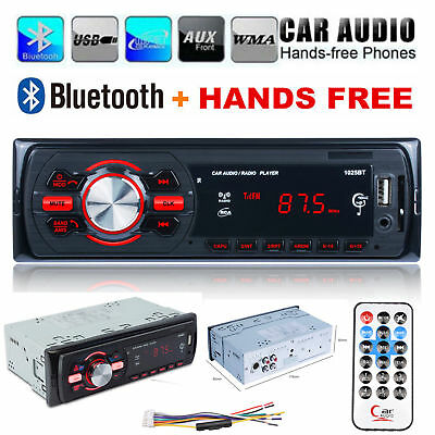 1 DIN Car Radio DAB + Bluetooth MP3/AUX/SD/USB Stereo Audio Player DC 12V-30V