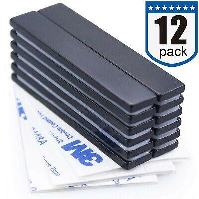 Waterproof Neodymium Bar Magnets With Epoxy Coating Powerful Permanent Rare ...