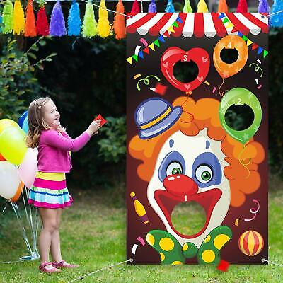 Adult Carnival Games (Carnival Toss Games with 3 Bean Bag, Fun Carnival Game for Kids and Adults in)