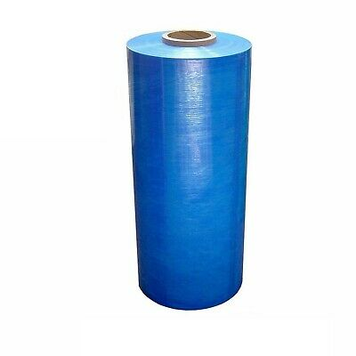 Pallet Machine Stretch Wrap Plastic Shrink Film Blue 20 X 63 Ga 5000 1 Roll