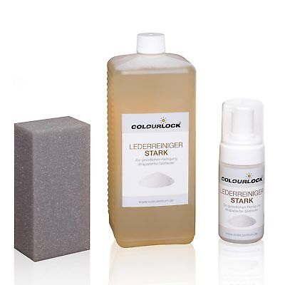 COLOURLOCK® Lederreiniger stark 1000 ml inkl. 125-ml-Schaumspenderflasche