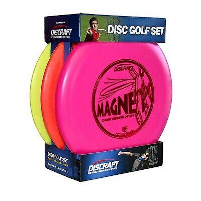 Juego De Golf De Disco Para Principiantes Paquete De 3 Discos Pdga De Putter...