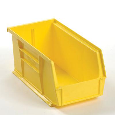 Plastic Storage Bin - Parts Storage Bin 5-12 X 10-78 X 5 Yellow Lot Of 12