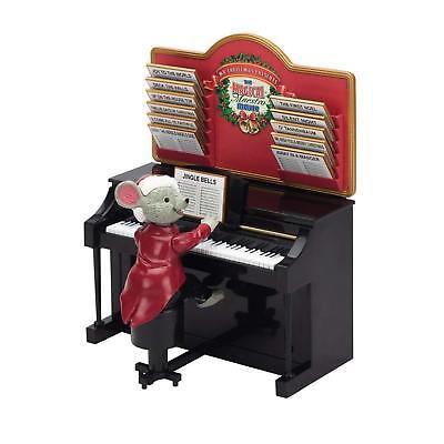 Spieluhr Magical Maestro Mouse spielt 24 Melodien Spieldose Peküba Deko Uhr Xmas