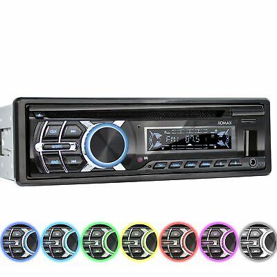RDS AUTORADIO MIT CD-PLAYER BLUETOOTH FREISPRECH-EINRICHTUNG USB SD MP3 AUX 1DIN